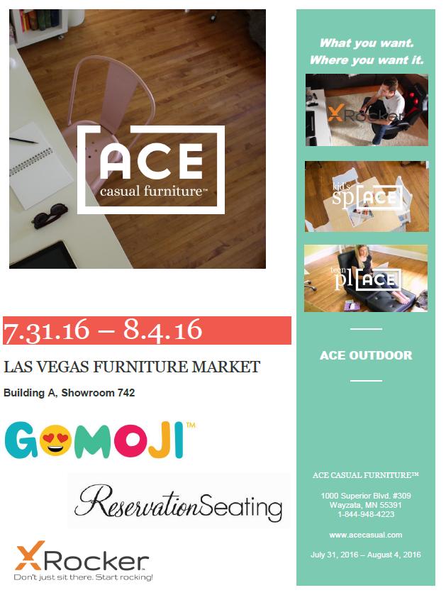 Ace Casual Furnature at Las Vegas Furnature Market